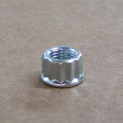 Base nut, 12 point