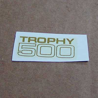 Trophy 500 Decal