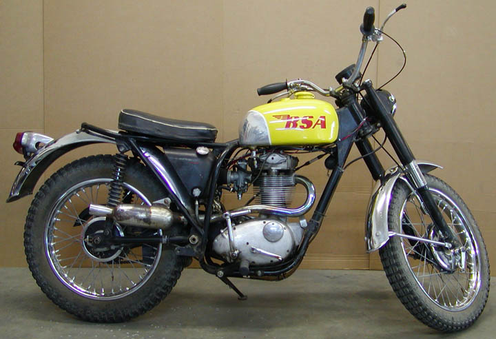 1966 Bsa 441 Victor Legend Cycle Breathing New Life