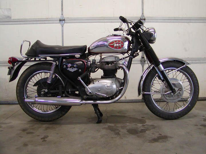 1970 Bsa 500 Royal Star   Legend Cycle  Maintaining The
