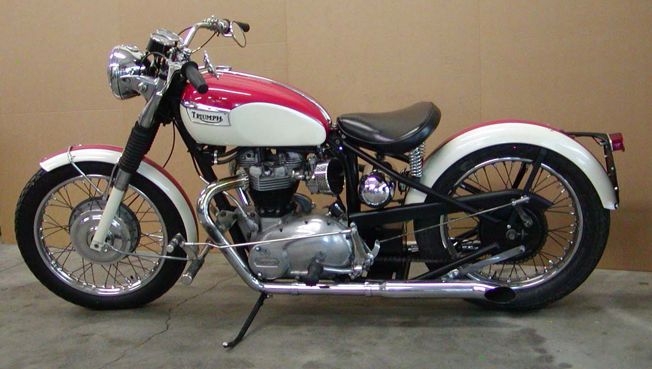 1970 triumph 650 custom legend cycle maintaining the. Black Bedroom Furniture Sets. Home Design Ideas