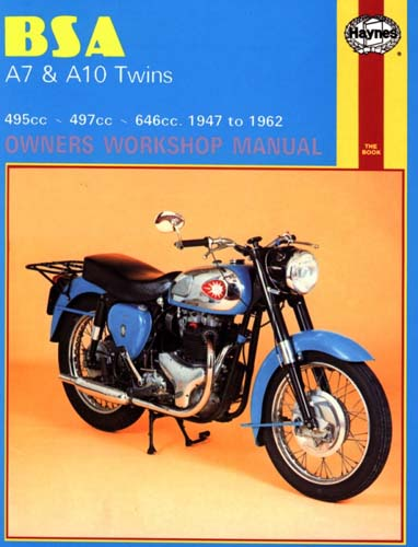Repair Manual, BSA A7/A10