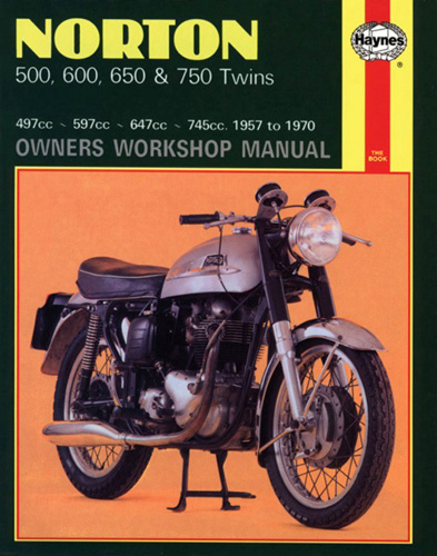 Repair Manual, Norton Pre Commando