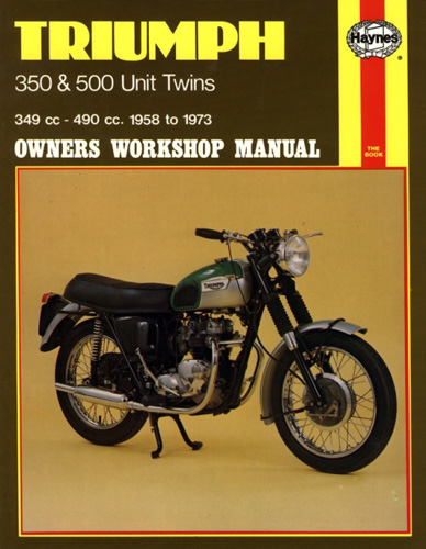 Repair Manual, Triumph 350/500
